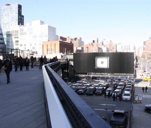 ニューヨークの空中公園ハイラインはアートやアーティストにフレンドリー_b0007805_524681.jpg