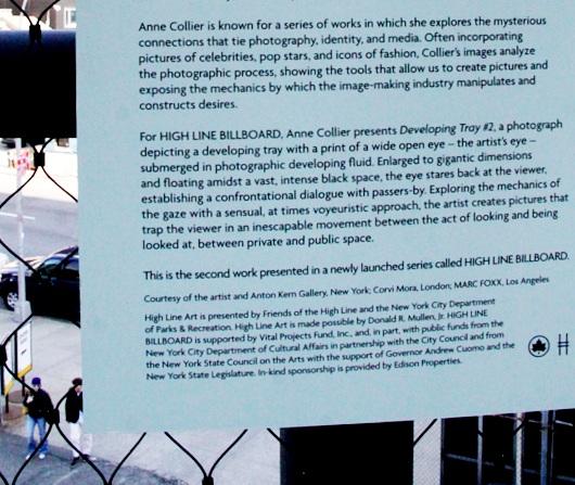 ニューヨークの空中公園ハイラインはアートやアーティストにフレンドリー_b0007805_53063.jpg