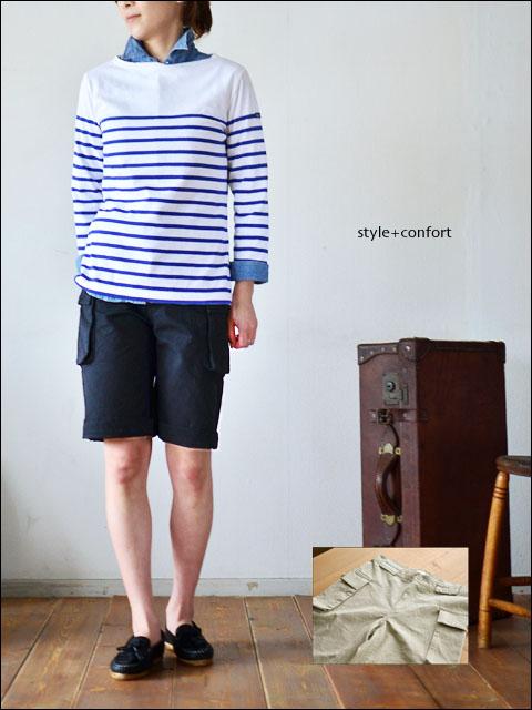 style+confort [スティール プラス コンフォート] カーゴショートパンツ [201-41005] LADY\'S_f0051306_1813786.jpg
