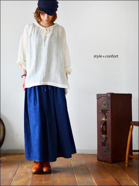 style+confort [スティール プラス コンフォート] 丸襟 プルオーバー [201-62108] LADY\'S_f0051306_18175059.jpg