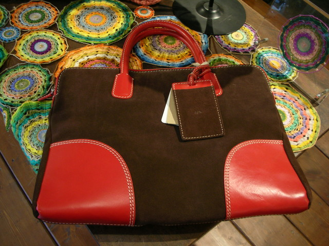 DUCT Cow Suede Tote Bag  ¥13,650−_a0142923_14142429.jpg