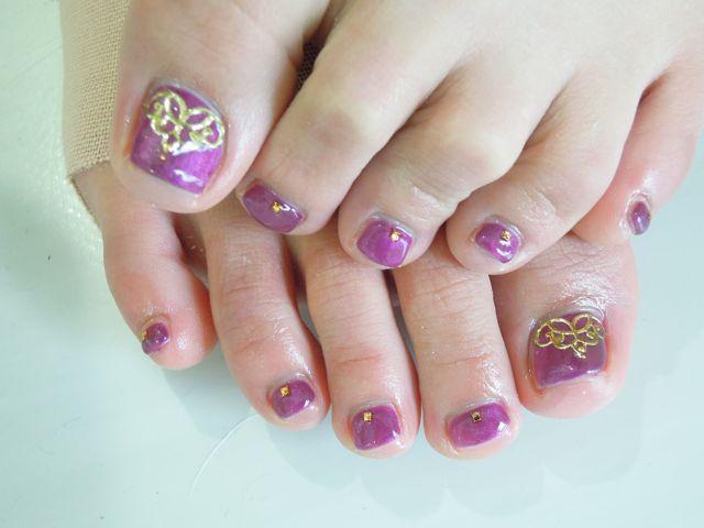 Red Purple Nail_a0239065_1681120.jpg