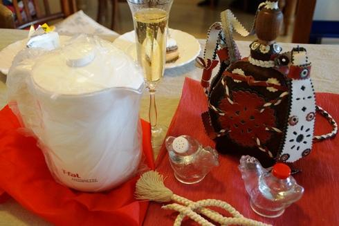 ハンガリーの水筒はじめ結婚祝いfromライター・編集者の山岸みすずさん~Kaos秋冬物展示会FRIENDS DAY_f0006713_2204992.jpg