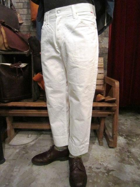"ANACRONORM \""Cropped 5P Pants\"" ご紹介_f0191324_9354053.jpg"