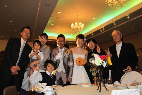 3月3日元スタッフまりなの結婚式♪_c0070933_2341441.jpg