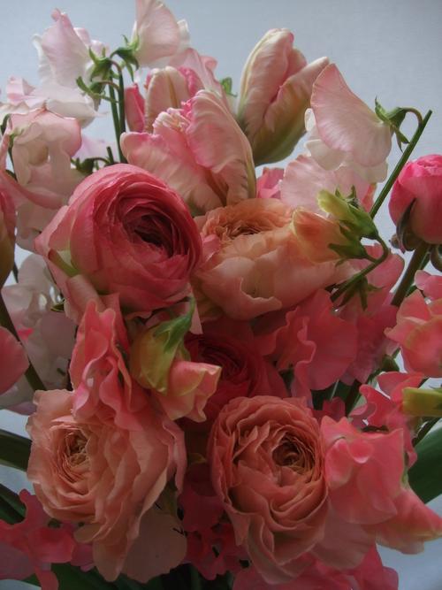オークリーフ(ひな祭りの花束)_f0049672_12415617.jpg