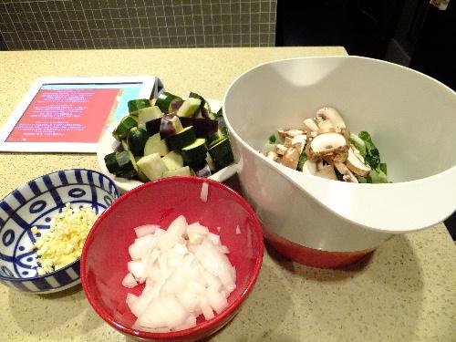 アーモンドミルク白菜スープ (オジャ・レシピ)と、楓のハイ・ファイブ_e0170687_13114182.jpg