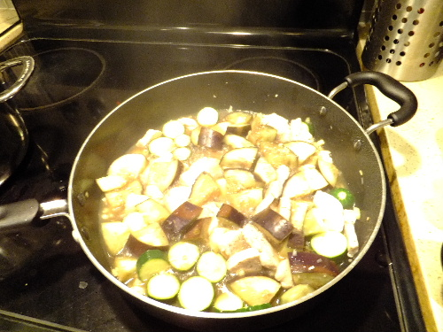 アーモンドミルク白菜スープ (オジャ・レシピ)と、楓のハイ・ファイブ_e0170687_13424143.jpg