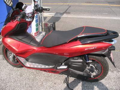 バイクザシートサンプル売れちゃいました。_e0114857_17103441.jpg