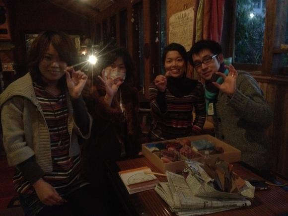 2012.1.28 屋久杉玉磨き & クリスタルボウル ヒーリングライブ_a0252768_027298.jpg