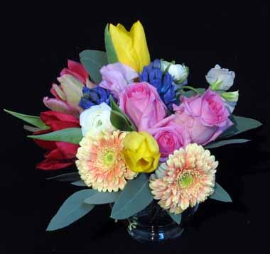 春の香りを束ねるブーケ*1月ホビーコース_f0134809_18123571.jpg