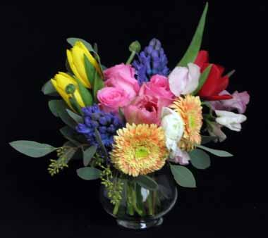 春の香りを束ねるブーケ*1月ホビーコース_f0134809_18141366.jpg