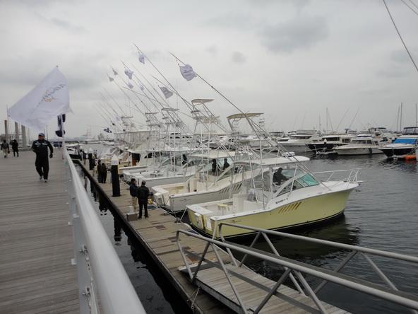 ボートショー フローティング会場のにぎわいは・・・【カジキ・マグロトローリング】_f0009039_9264744.jpg