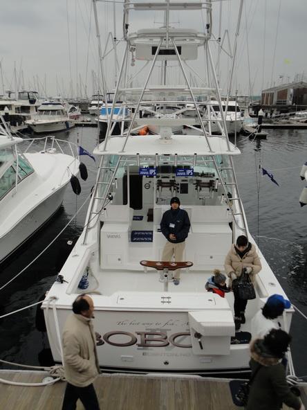 ボートショー フローティング会場のにぎわいは・・・【カジキ・マグロトローリング】_f0009039_92928.jpg