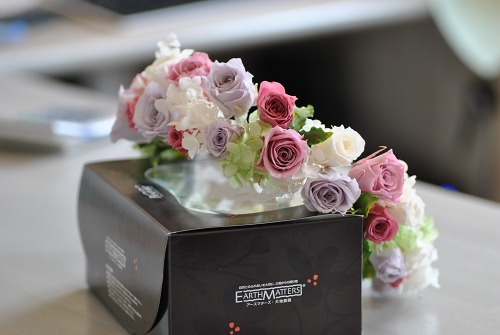 *花嫁様の花冠とリストレット*_e0159050_17592474.jpg