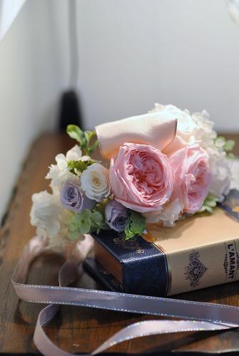 *花嫁様の花冠とリストレット*_e0159050_1843250.jpg