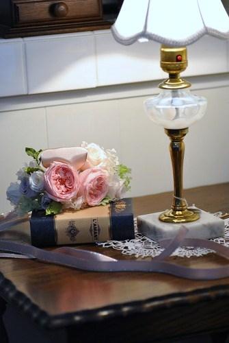 *花嫁様の花冠とリストレット*_e0159050_1855511.jpg