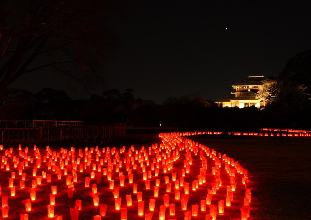 水戸偕楽園梅まつり 夜梅祭 2012...