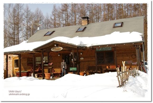 雪の中の cafee BuHo (カフェ ブーオ)_f0179404_2114547.jpg
