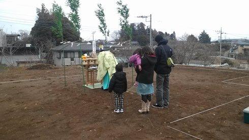 土浦市内で地鎮祭がありました。_a0059217_8344545.jpg