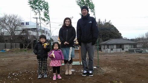 土浦市内で地鎮祭がありました。_a0059217_83504.jpg