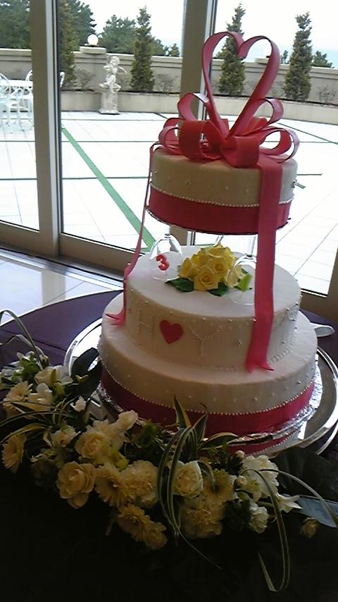 新婦の手作り~ケーキ~_f0177422_1205120.jpg