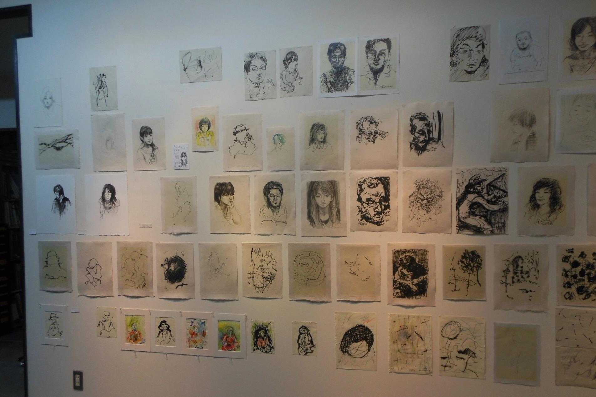1650) 「栗田健・絵画展 『Portrait』」 af 終了・2月21日(火)~3月5日(月)_f0126829_1637269.jpg