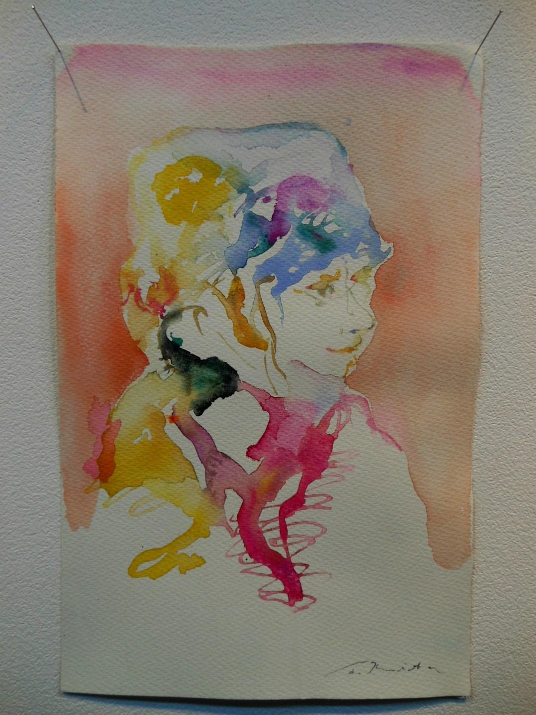 1650) 「栗田健・絵画展 『Portrait』」 af 終了・2月21日(火)~3月5日(月)_f0126829_20482261.jpg