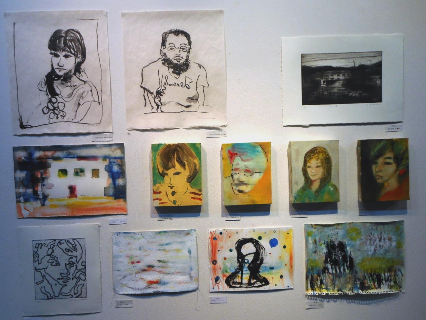 1650) 「栗田健・絵画展 『Portrait』」 af 終了・2月21日(火)~3月5日(月)_f0126829_2111044.jpg