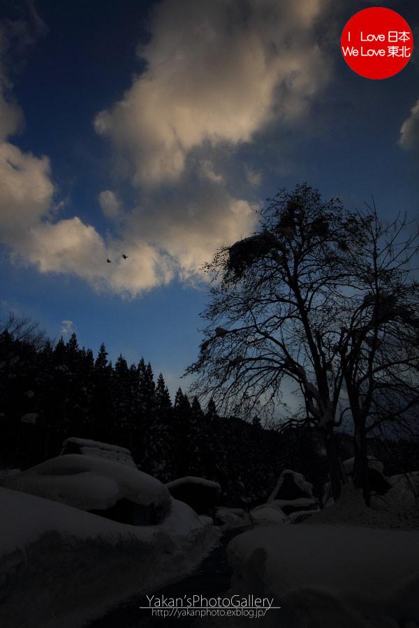 冬の高山、白川郷の合掌造り集落ライトアップ 07 冬の白川郷散策「団子汁」編_b0157849_041395.jpg