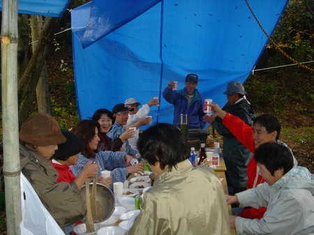 みさき里山クラブ「じねんじょパーティー」_c0108460_2194996.jpg