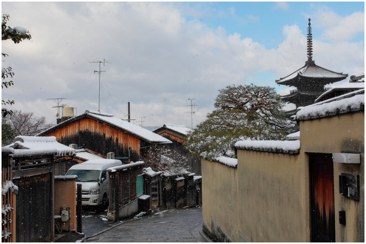 雪景色 <京都>_f0021869_22471537.jpg