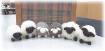 近鉄MOMOの羊毛講習会_d0142770_19472925.jpg