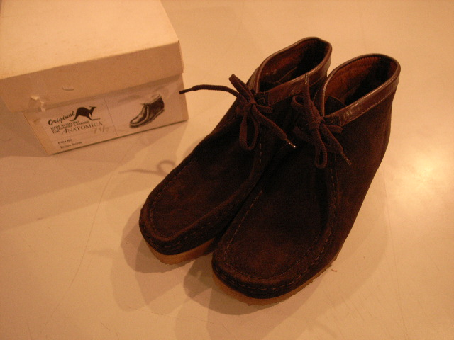 """PADMORE & BARNES FOR ANATOMICA WALLABEE Hi\""ってこんなこと。_c0140560_13253514.jpg"