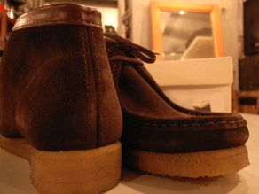 """PADMORE & BARNES FOR ANATOMICA WALLABEE Hi\""ってこんなこと。_c0140560_1329535.jpg"