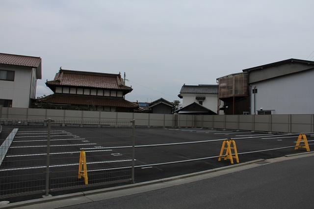 JA安芸・熊野支店跡は、駐車場に_b0095061_18503070.jpg