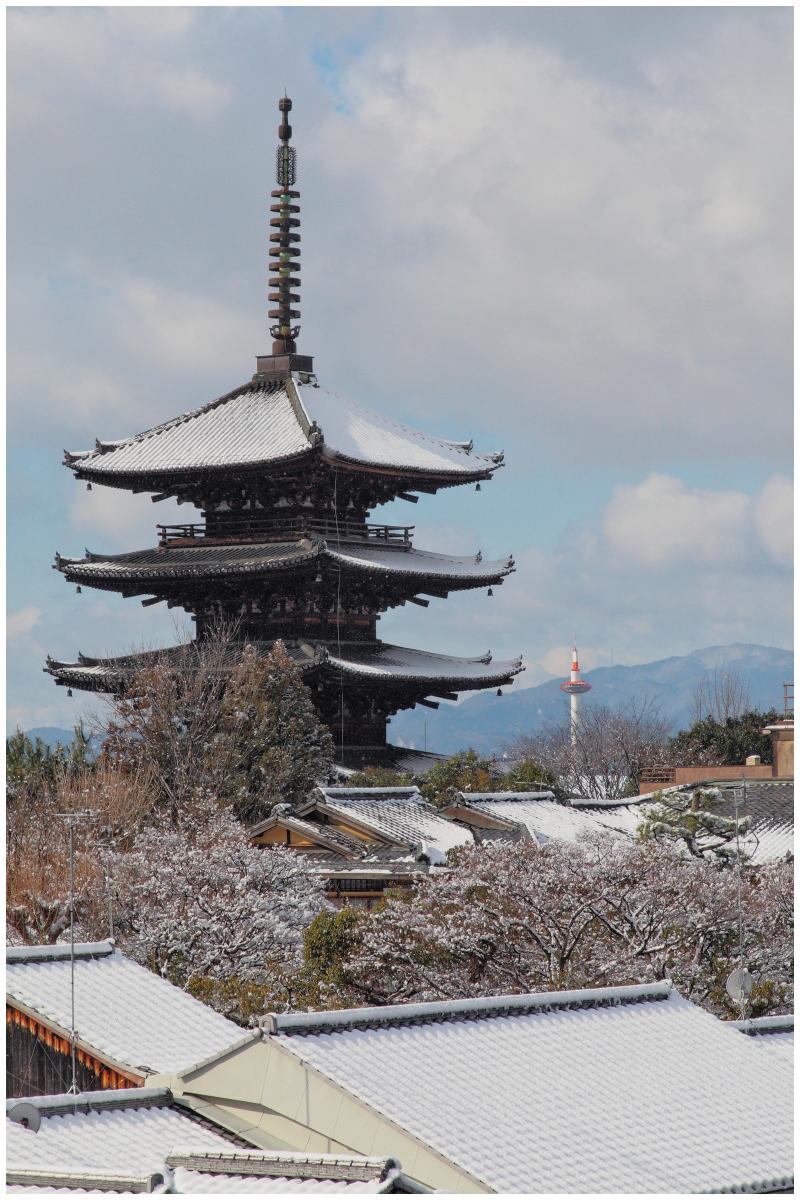 雪景色 <京都>_f0021869_2228990.jpg