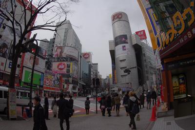3月7日(水)今日の渋谷109前交差点_b0056983_14493533.jpg