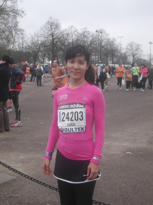 パリへの旅(1)―パリハーフマラソン_e0123104_746022.jpg