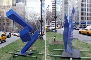 ニューヨークに目の錯覚を楽しめるパブリック・アートが登場中_b0007805_12303.jpg