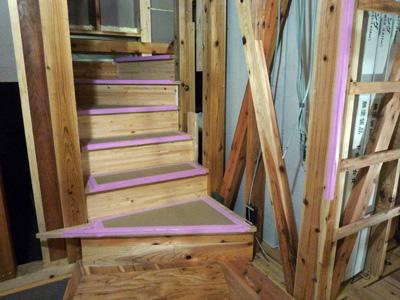 階段できました。_a0148909_13571766.jpg