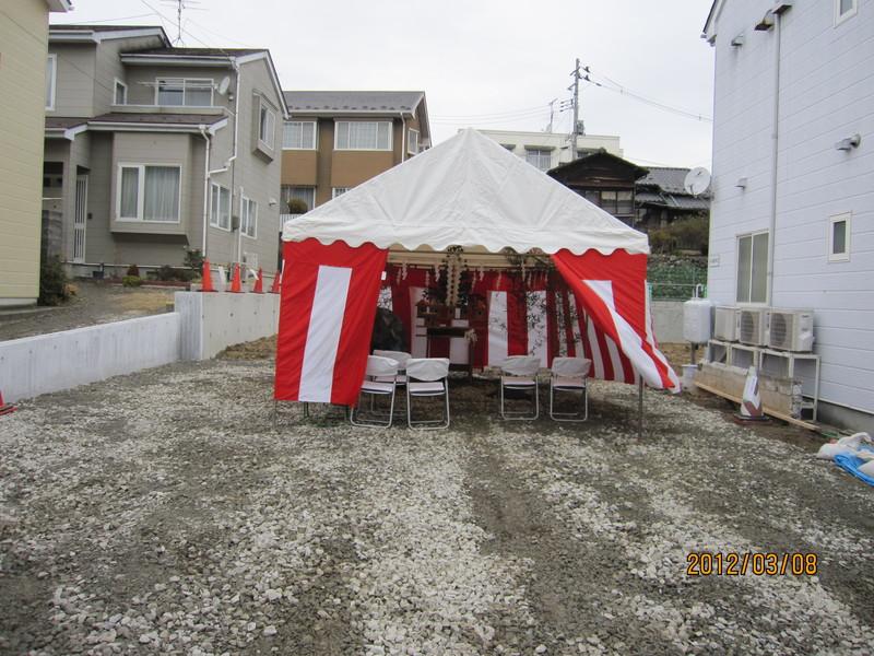 新医院建築のための地鎮祭をとり行いました_a0119856_2319382.jpg