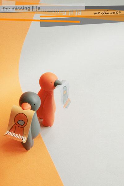 missing ji ja orange and grey by mr clement_e0118156_7234487.jpg