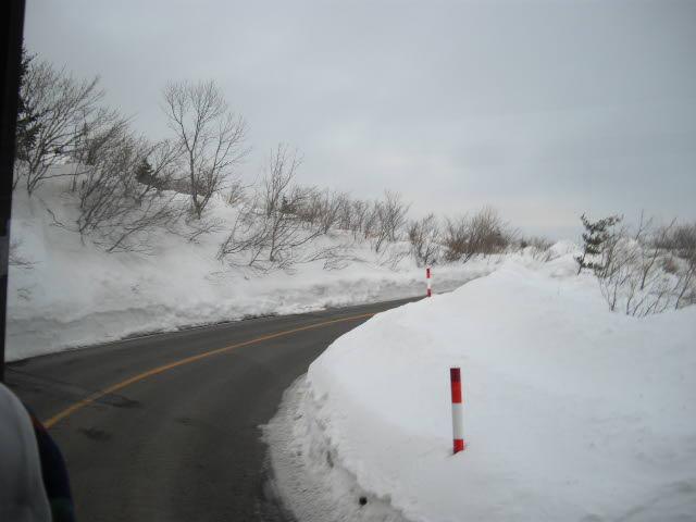 樹氷を見るはずが・・・_d0116059_22232780.jpg