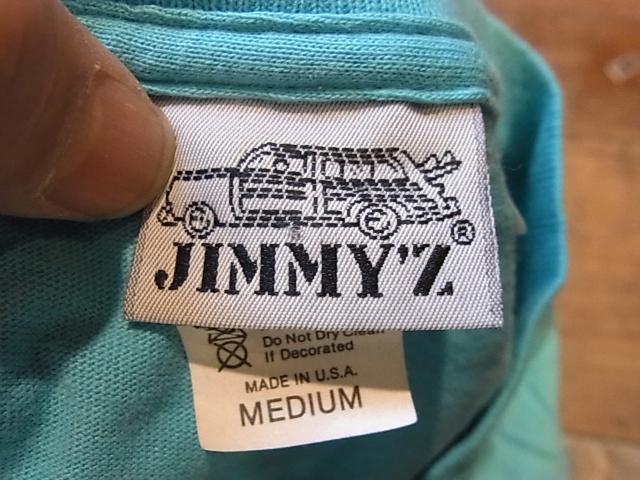 3/9(土)入荷!80年代 JIMMY'Z Tシャツ!_c0144020_15285356.jpg