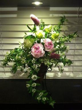お花の教室終了^。^_c0187025_13324074.jpg