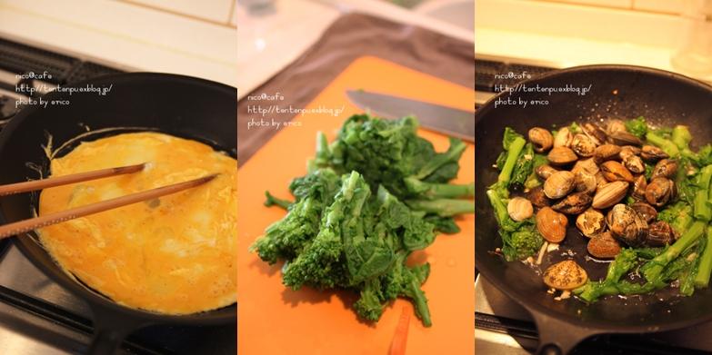 旬な料理☆アサリと菜の花の餡かけ卵_f0192151_21425999.jpg
