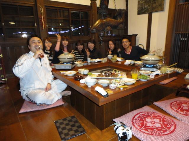 内田院長主催晩餐会~受付女子5人~_a0079474_833255.jpg
