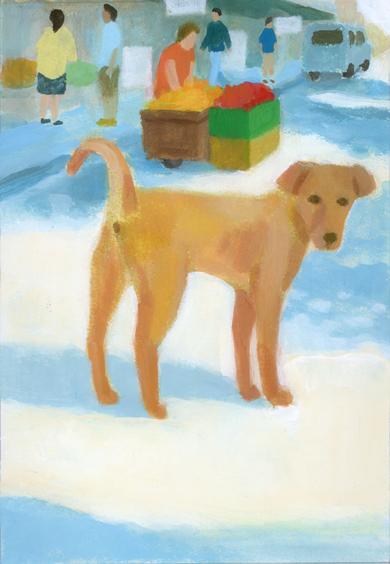 illustration break-バンコクの野良犬_b0194880_15324491.jpg