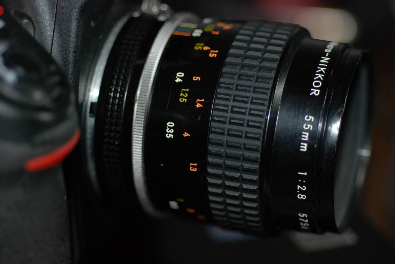 オートニッコール55/1.2 【中古】 (ニコン) 【中古レンズ MFレンズ】 Nikon ランク:B 非AI